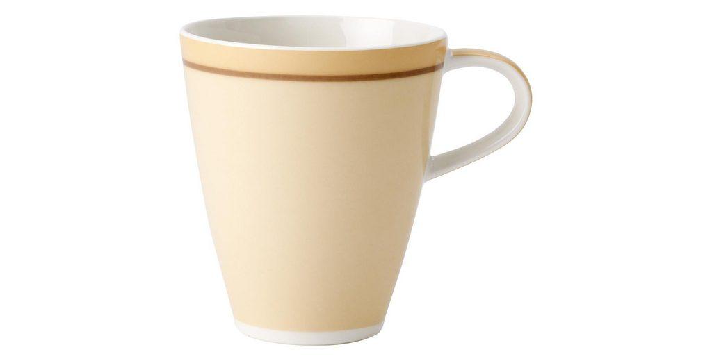 VILLEROY & BOCH Becher mit Henkel »Caffè Club Uni vanille«