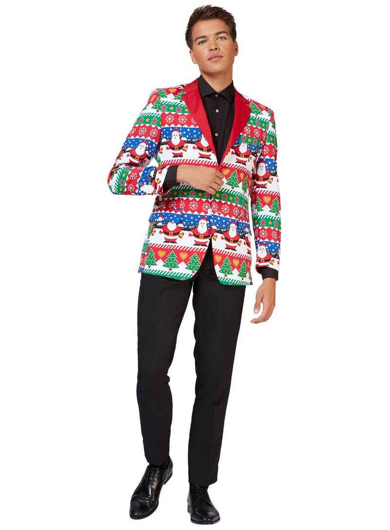 Opposuits Kostüm »Snazzy Santa Jackett«