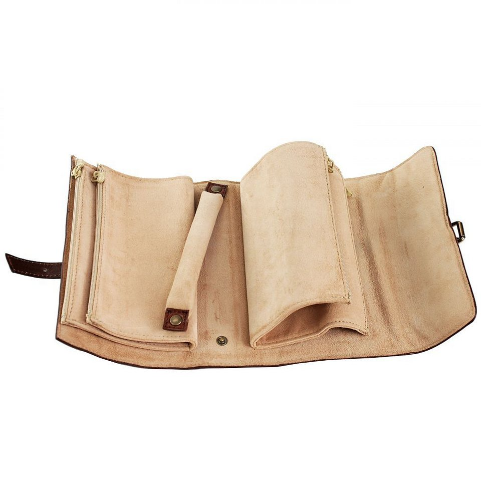 The Bridge Story Exclusive Schmucketui Leder 33 cm in cognac