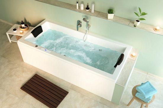 Emotion Whirlpool-Badewanne »Unity 200 Whirlpool mit der Befüllung über den Überlauf«