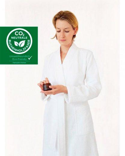 Damenbademantel »Supersoft«, freundin Home Collection, aus CO2 neutraler Buchenholzfaser