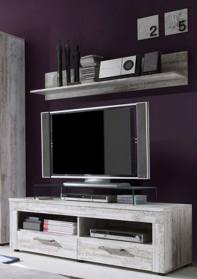 TV-Unterteil in grau