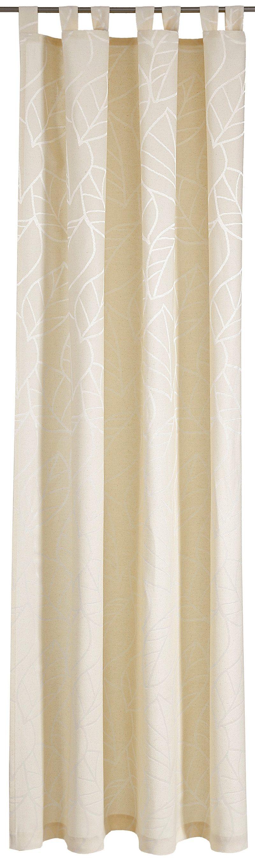 Vorhang, Deko trends, »Palmea«, mit Schlaufen (1 Stück)