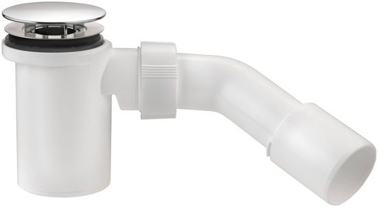 CORNAT Röhren-Geruchverschluss für Brausewannen mit Standrohrventil