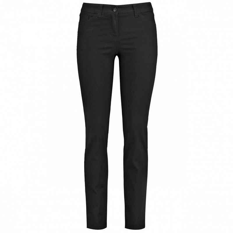 GERRY WEBER 5-Pocket-Jeans »Damen HOSE JEANS LANG BEST4ME SLIMFIT« 5-Pockets Style