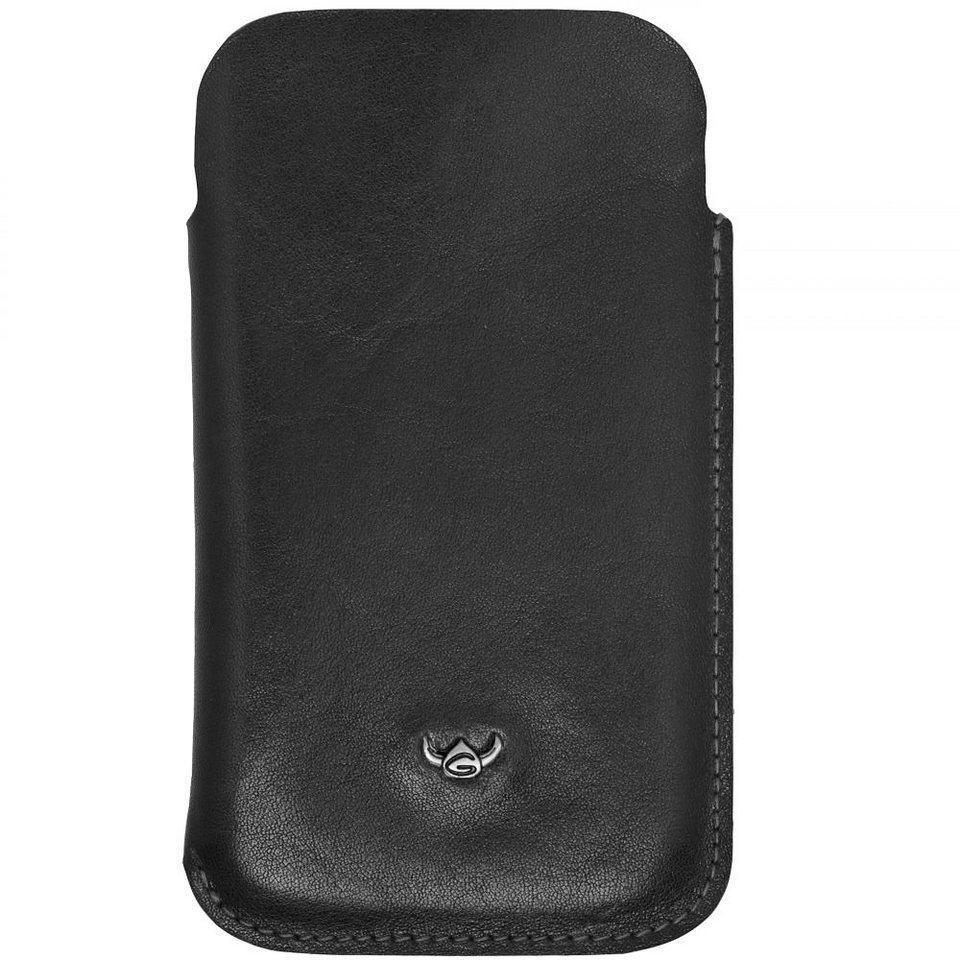 Golden Head Colorado für iPhone, BlackBerry®, Samsung Handytasche Leder 7,5 in schwarz
