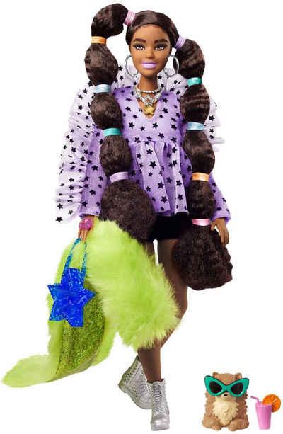 Barbie Anziehpuppe »EXTRA«, mit Zöpfen & Haargummis