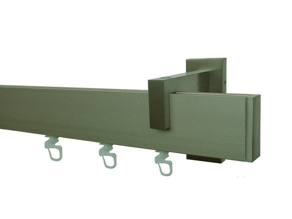 Flachprofil mit Innenlauf nach Maß 40 x 15 mm, Garesa, »Ronda« in edelstahlfarben