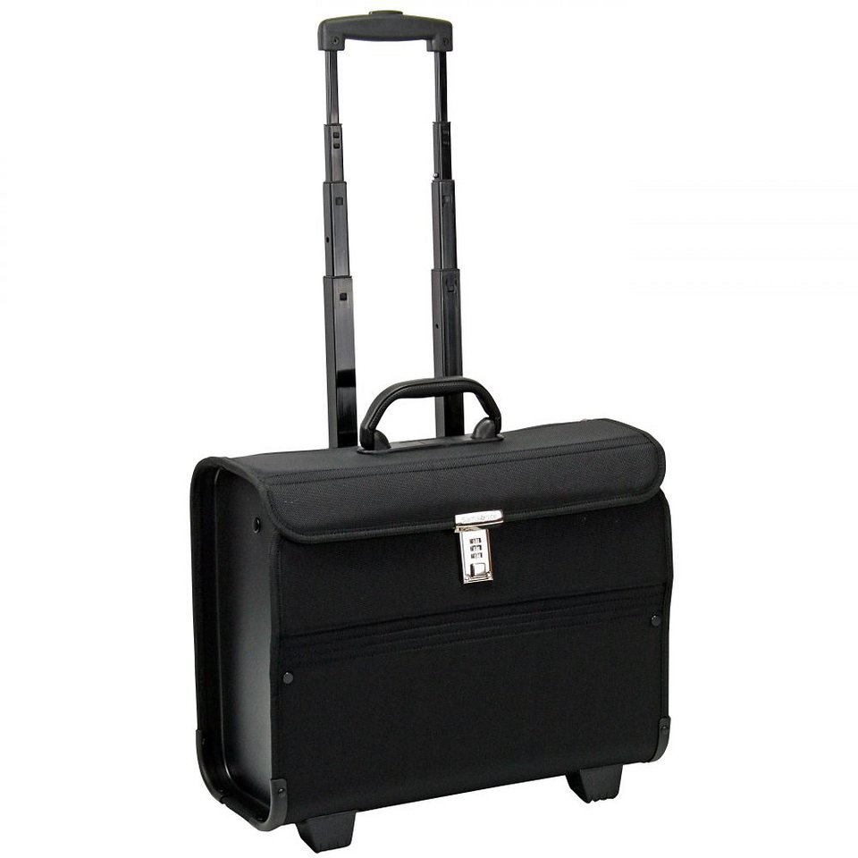 "Samsonite Transit 2 Pilotenkoffer ""Syntonic"" 45,5 cm Laptopfach in jet black"