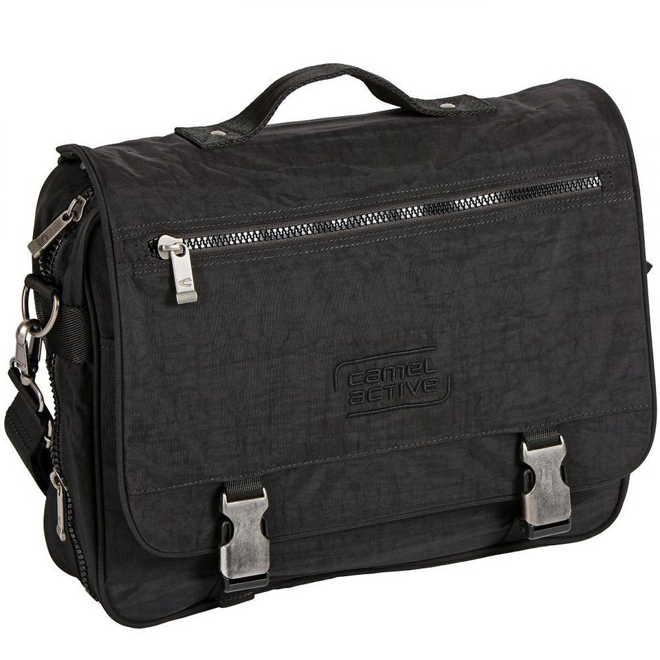 camel active Journey Messenger 39 cm in schwarz