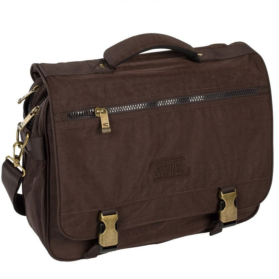 camel active Journey Mappe 38,5 cm in braun