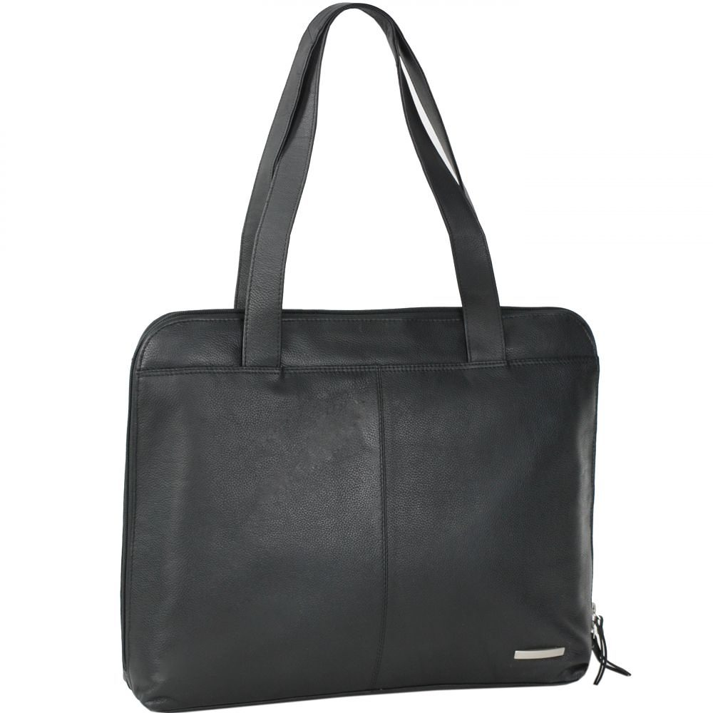 Mika Lederwaren Soft Nappa Damentaschen Shopper Leder 34 cm