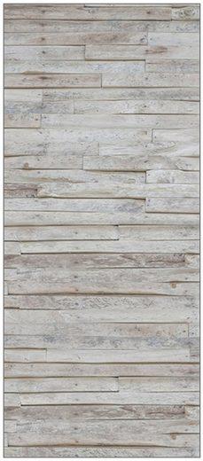 MySpotti Spritzschutz »fresh F2 Wood Planks«, 90 x 210 cm