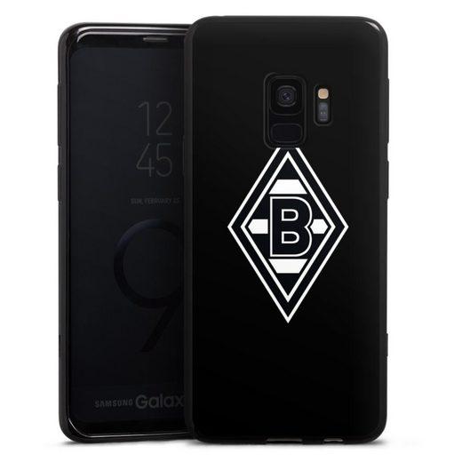 DeinDesign Handyhülle »Borussia Raute Schwarz« Samsung Galaxy S9 Duos, Hülle Wappen Borussia Mönchengladbach Gladbach