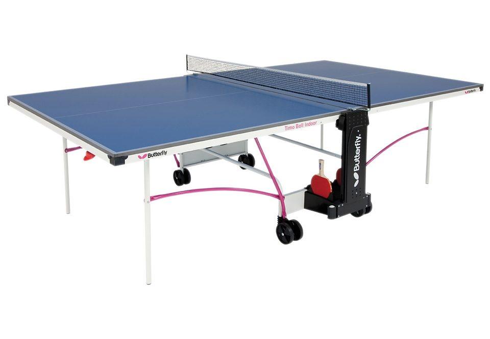 TT-Tisch, Butterfly, »INDOOR TABLE TIMO BOLL«, internationales Turniermaß