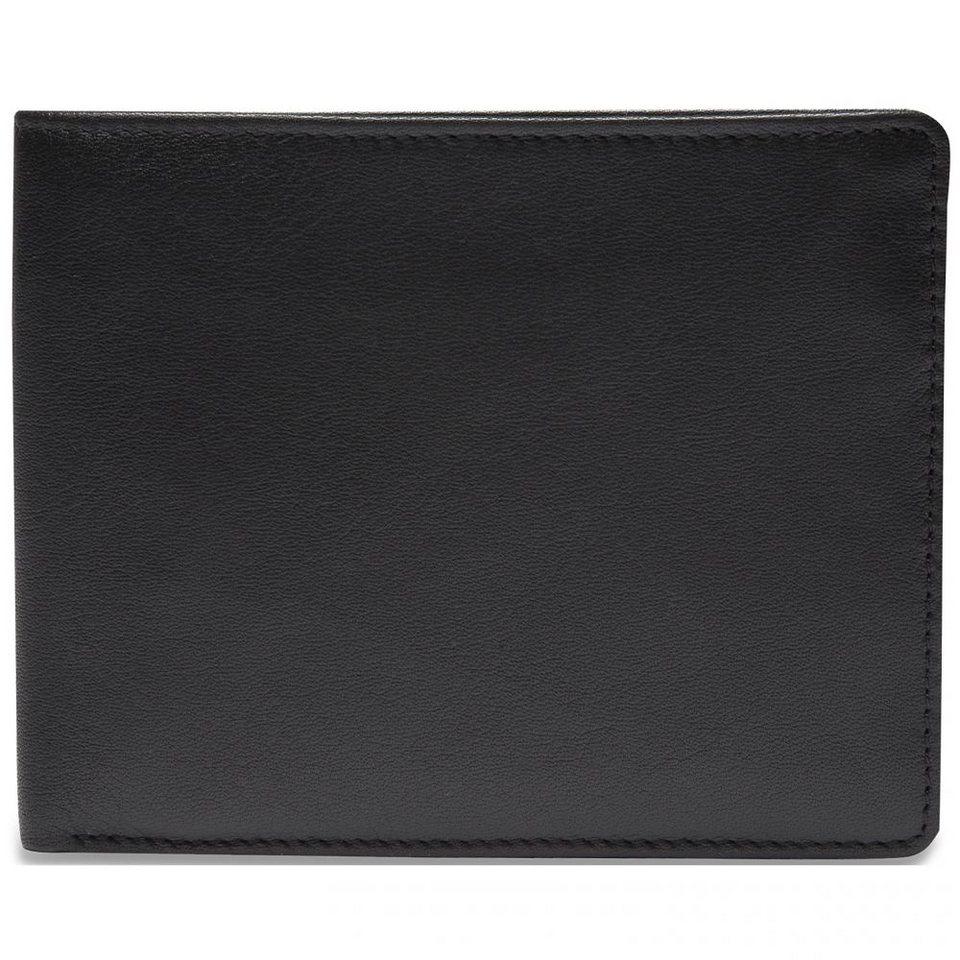 Picard Eurojet Kreditkartenetui Leder 11 cm in schwarz
