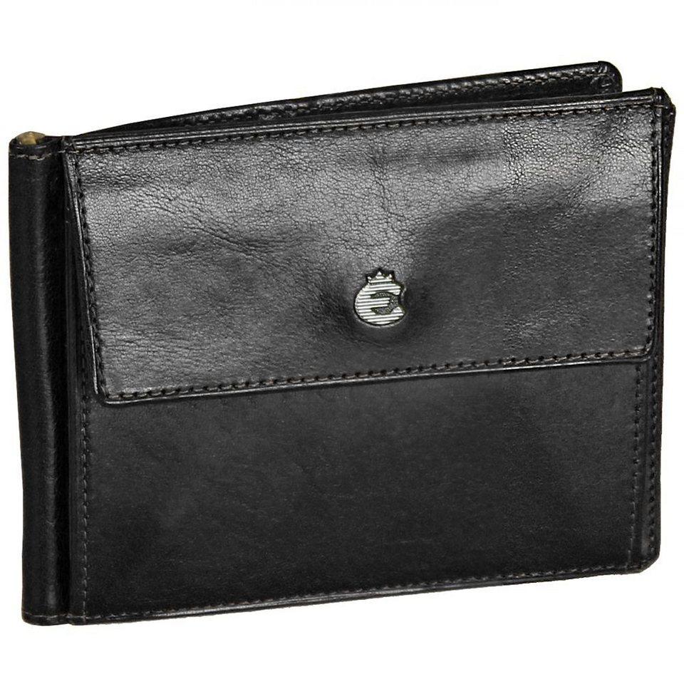 Esquire Toscana Damengeldbörse Leder 11,5 cm in black