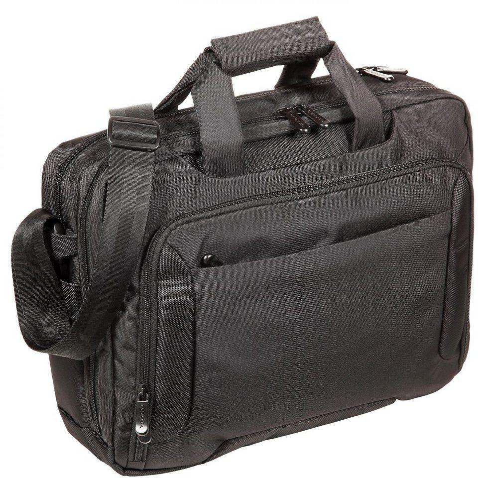 Dermata Laptoptasche 42 cm in schwarz