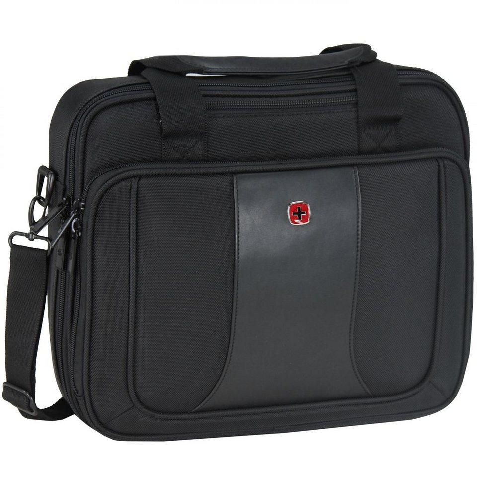 Wenger Single Compartment Brief Laptoptasche 38 cm in schwarz