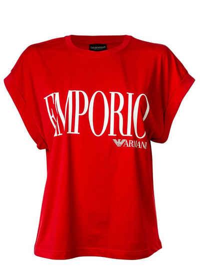 Emporio Armani T-Shirt »Damen T-Shirt - Rundhals, Loungewear, Kurzarm«