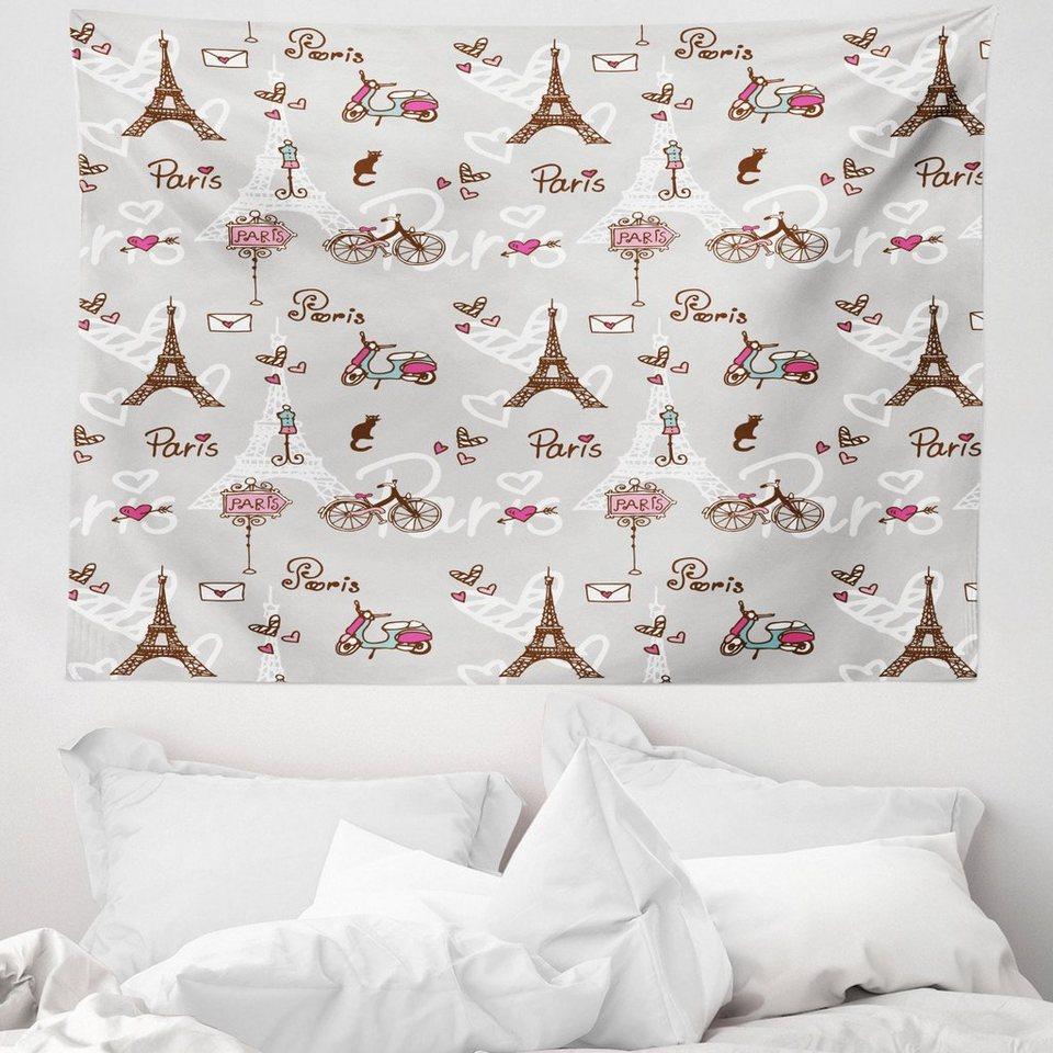 Wandteppich »aus Weiches Mikrofaser Stoff Für das Wohn und Schlafzimmer«, Abakuhaus, rechteckig ...