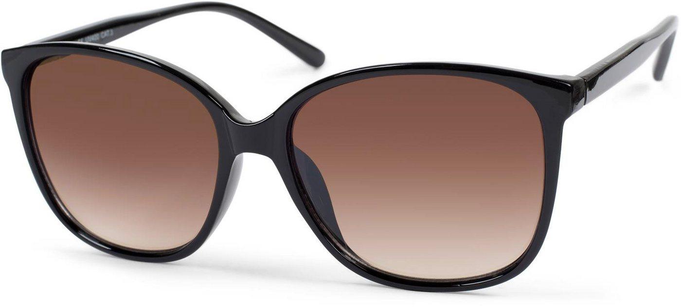 stylebreaker -  Sonnenbrille »Sonnenbrille mit ovalen Oversize Gläsern« Getönt