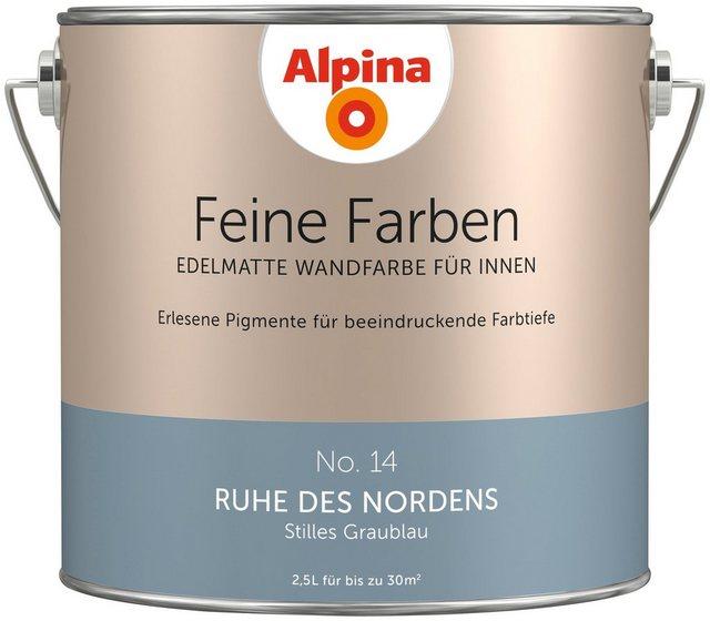 Alpina Feine Farben Ruhe des Nordens, blau
