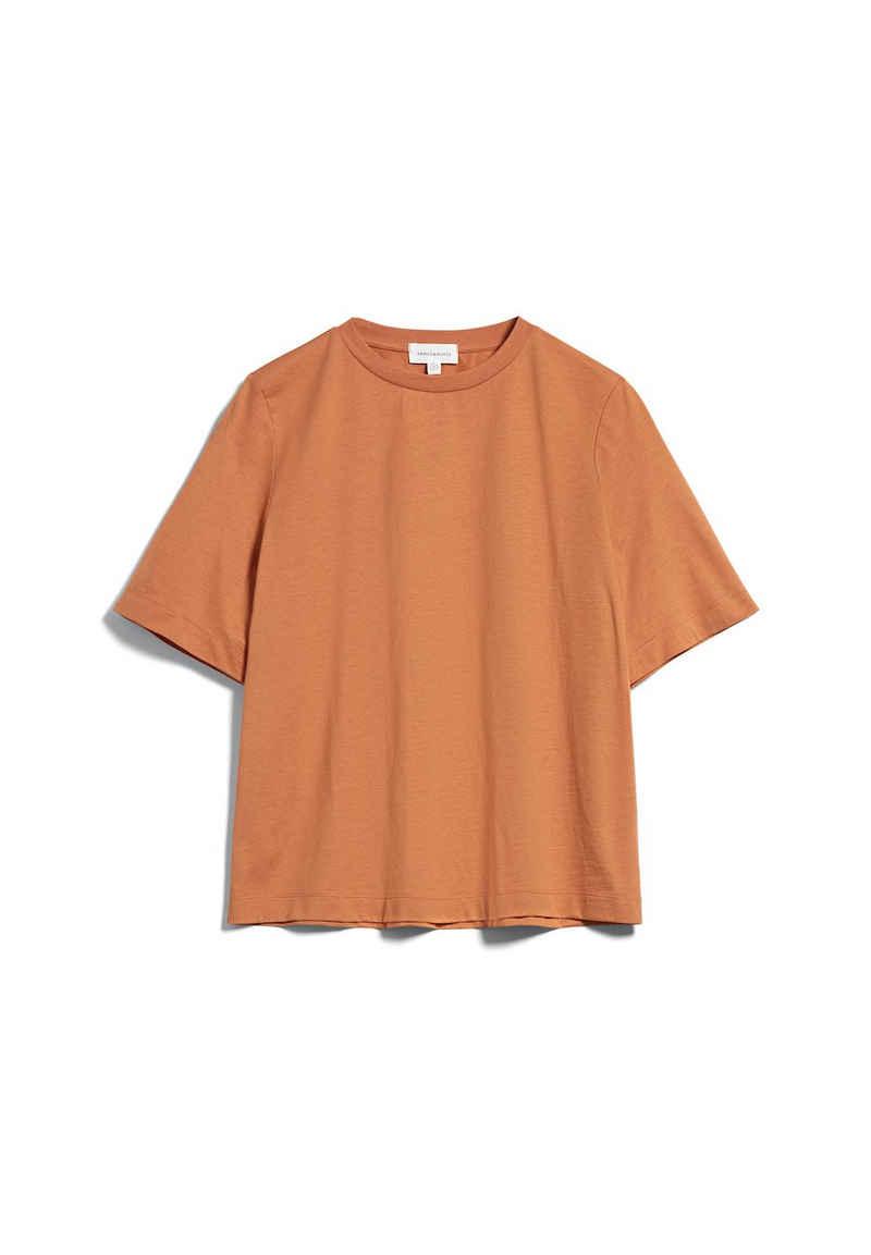 Armedangels T-Shirt »LAYAA MERCERIZED Damen« (1-tlg)