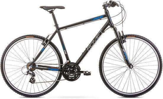 ROMET Crossrad »Orkan M«, 21 Gang Shimano Altus RD-M 310 Schaltwerk, Kettenschaltung