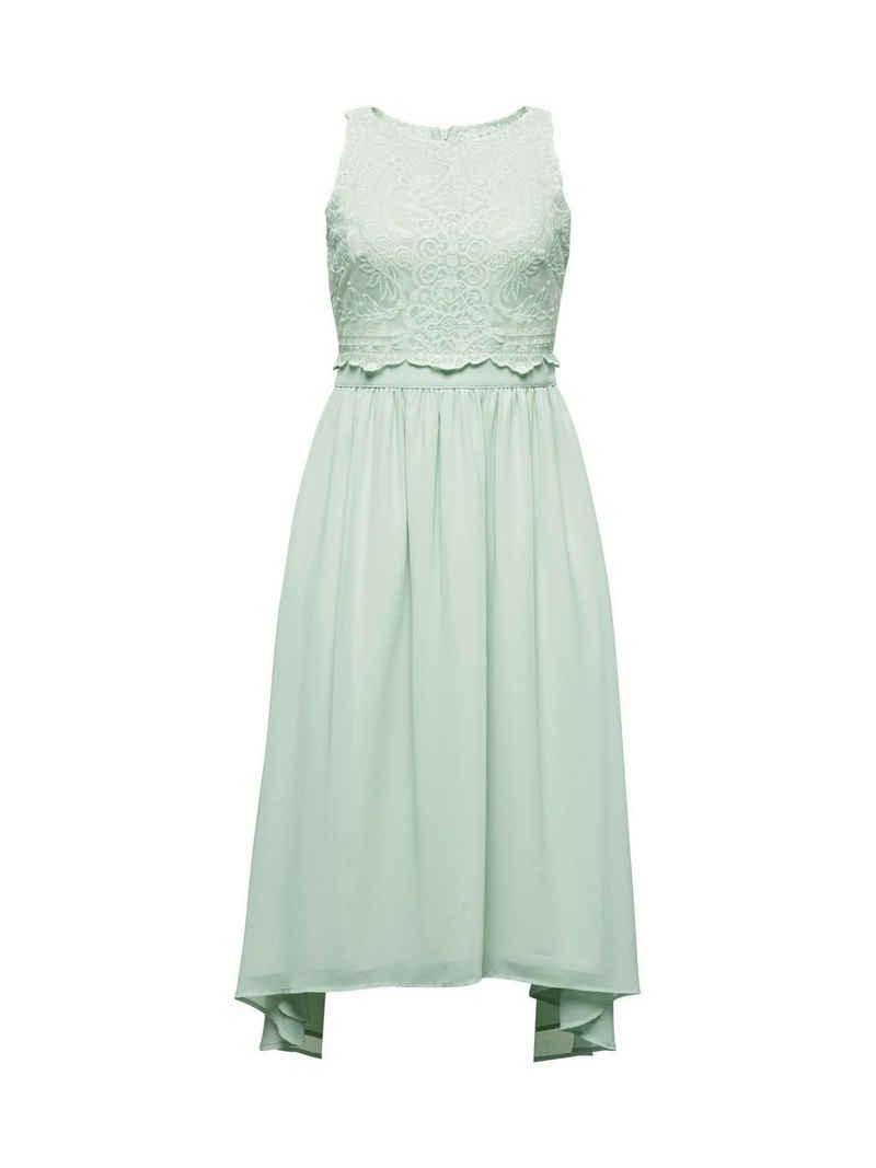 Esprit Collection Midikleid »Midi-Kleid aus Chiffon und Spitze«