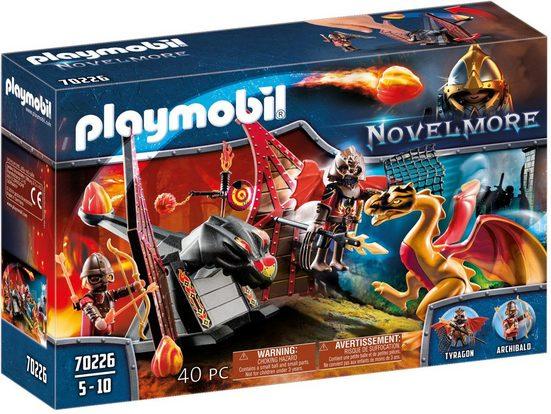 Playmobil® Konstruktions-Spielset »Burnham Raiders Kampftraining des Drachen (70226), Novelmore«, (40 St), Made in Germany