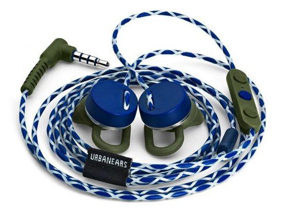 Urbanears »Urbanears Reimers Active Apple In-Ear Headset Kopfhörer Mikrofon Fernbedienung« In-Ear-Kopfhörer (EarClick-Funktion, komfortabel, reflektierend)