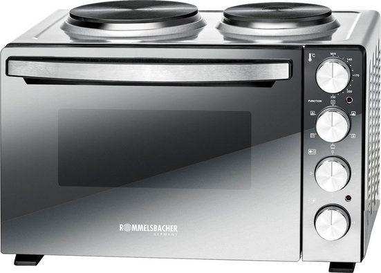 Rommelsbacher Kleinküche KM 3300, Grill, Ober-/Unterhitze, Umluft, Oberhitze, Unterhitze, 30 l