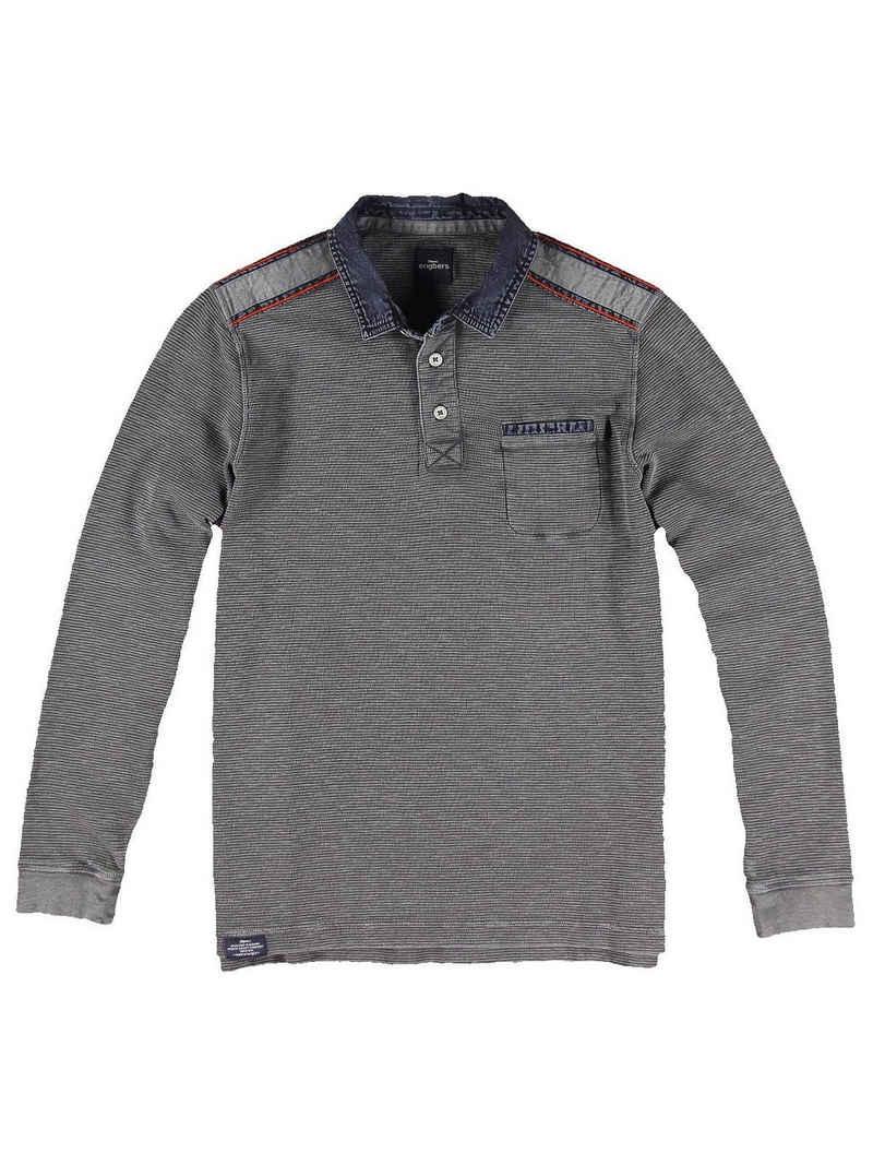 Engbers Langarmshirt »Poloshirt langarm«