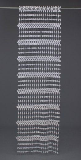 Fadenvorhang nach Maß »Nuala«, VHG, Kräuselband (1 Stück), Stablöcher, Höhe 180 cm