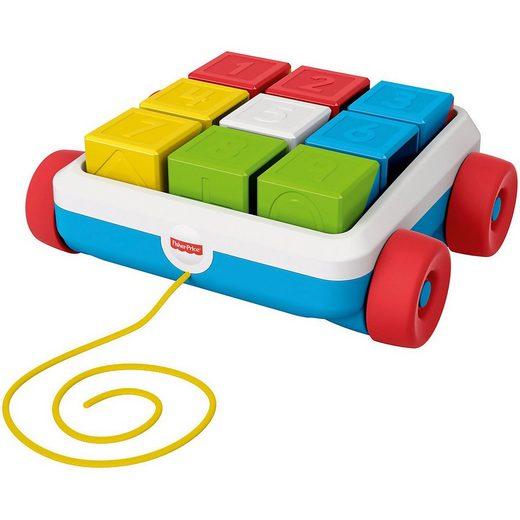 Mattel® Steckspielzeug »Fisher-Price Bausteinwagen, Baby-Spielzeug,«