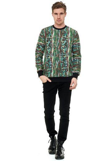Rusty Neal Sweatshirt im coolen New York-Style