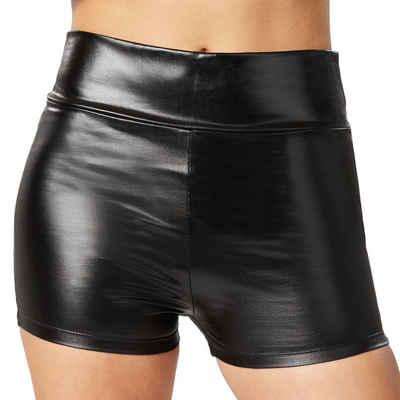 tectake Hotpants »Metallic-hotpants« (1-tlg)