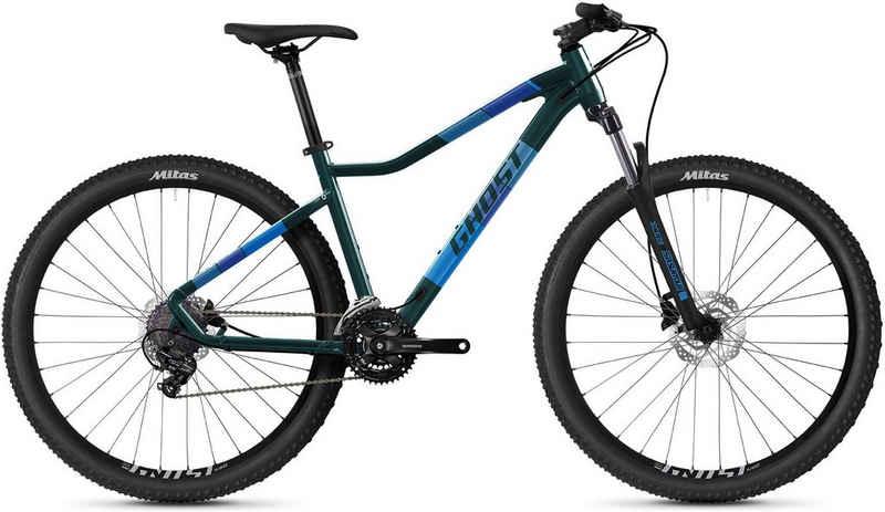Ghost Mountainbike »Lanao Base 27.5 AL W«, 21 Gang Shimano Tourney 7-fach Schaltwerk, Kettenschaltung