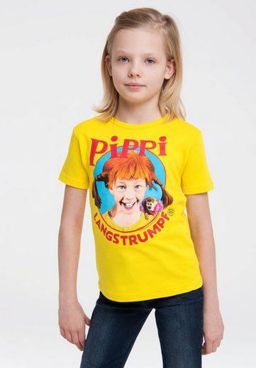 LOGOSHIRT T-Shirt mit coolem Pippi Langstrumpf-Print