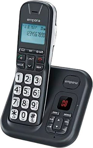Emporia »GD61AB« Schnurloses DECT-Telefon (Mobilteile: 1)