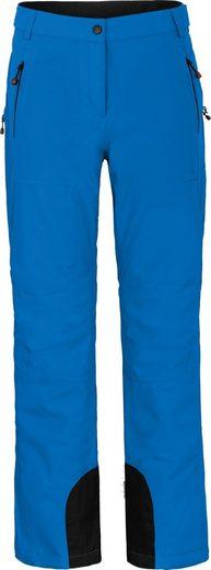 Bergson Skihose »ICE« Damen Skihose, wattiert, 20000 mm Wassersäule, Kurzgrößen, blau