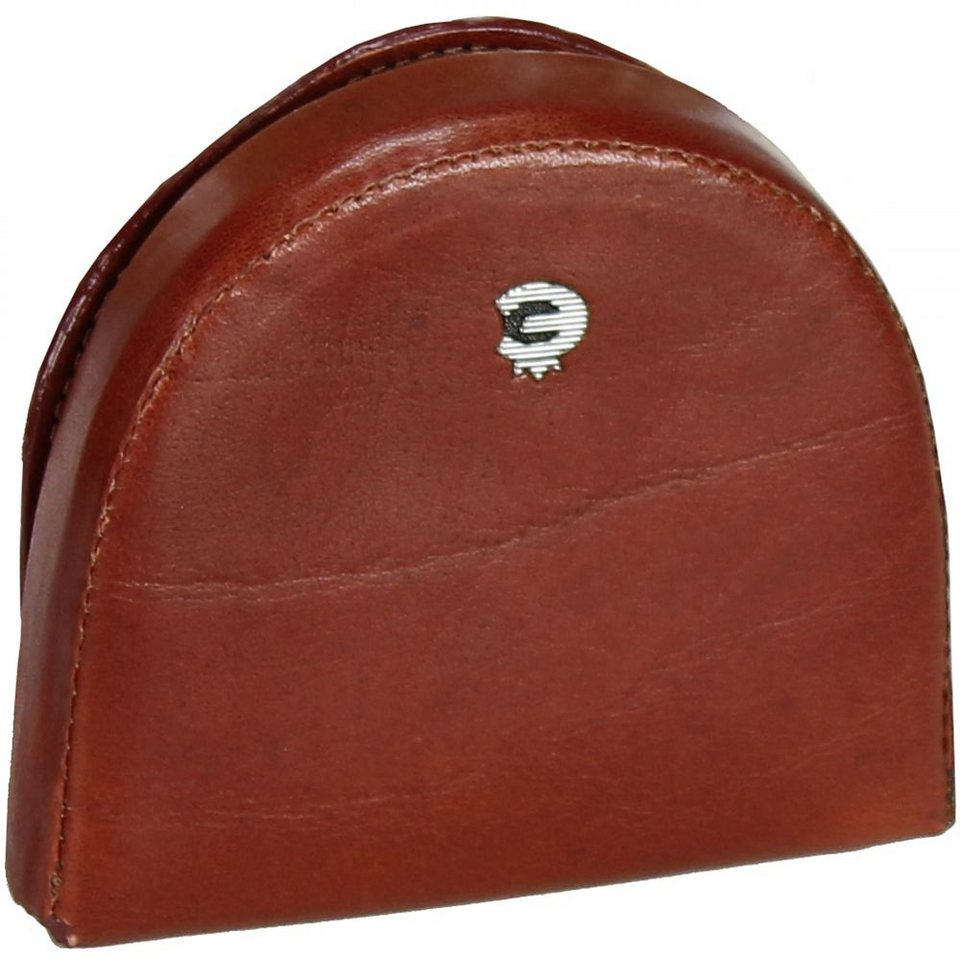 Esquire Toscana Münzbörse Leder 8 cm in brown