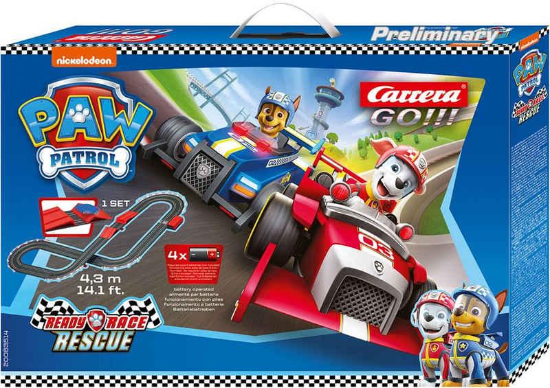 Carrera® Autorennbahn »Carrera® GO!!! - Paw Patrol« (Streckenlänge 4,3 Meter), (Set)