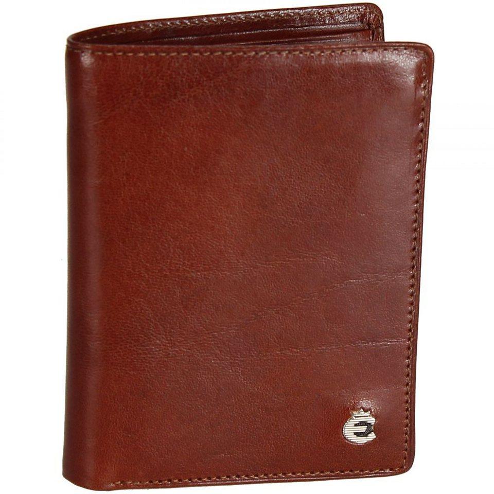 Esquire Toscana Geldbörse Leder 9 cm in brown