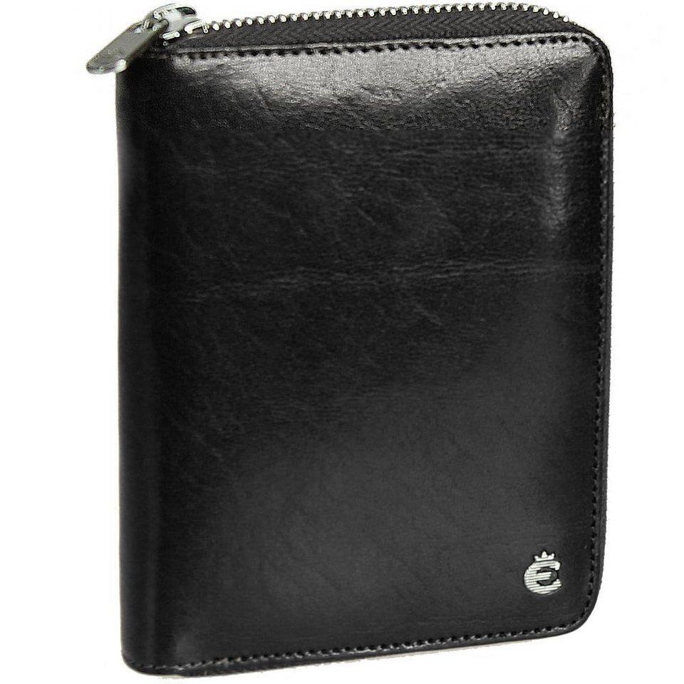 Esquire Toscana Damengeldbörse Leder 14 cm in black