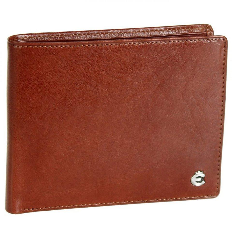 Esquire Toscana Geldbörse Leder 12,5 cm in brown