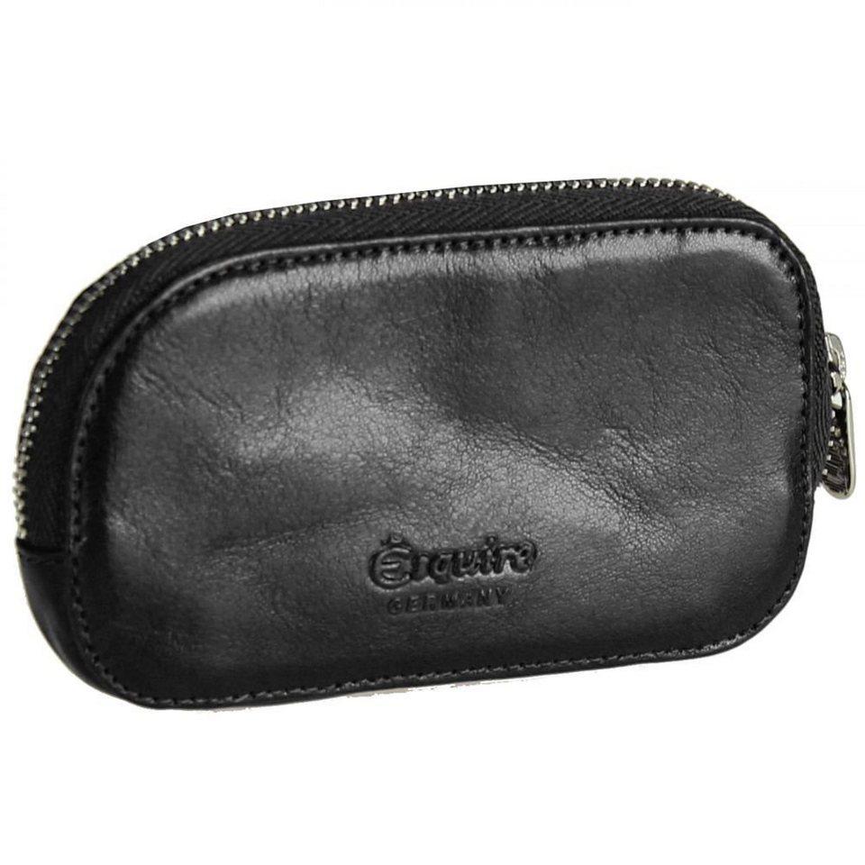 Esquire Toscana Schlüsseletui Leder 10 cm in black