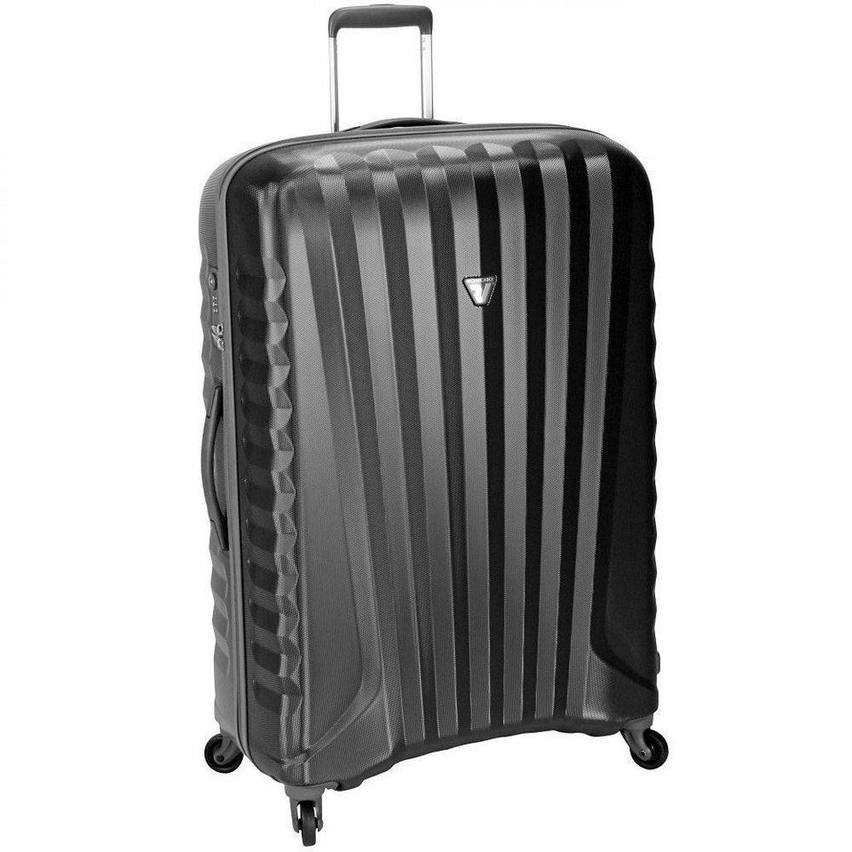 Roncato UNO ZIP 4-Rollen Trolley 71 cm in nero