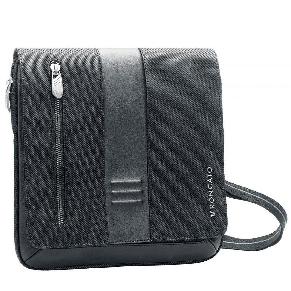Roncato Heritage Flap Bag 26 cm in antracite